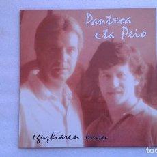 Discos de vinilo: PANTXOA ETA PEIO - EGUZKIAREN MUSU LP 1990. Lote 77926057
