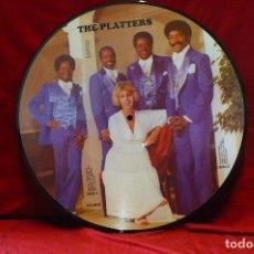 Discos de vinilo: THE PLATTERS, PICTURE DISC, TEMAS EN LA DESCRIPCION.. Lote 77929033