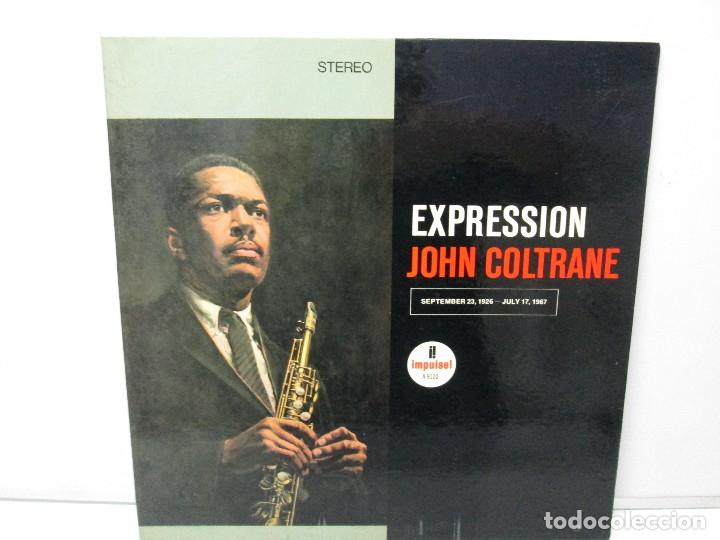EXPRESSION JOHN COLTRANE. DISCO VINILO. VER FOTOGRAFIAS ADJUNTAS (Música - Discos - Singles Vinilo - Jazz, Jazz-Rock, Blues y R&B)