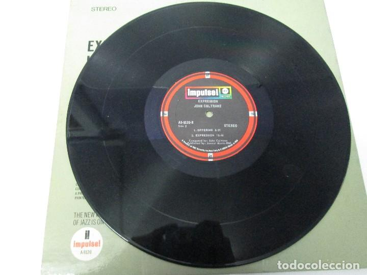 Discos de vinilo: EXPRESSION JOHN COLTRANE. DISCO VINILO. VER FOTOGRAFIAS ADJUNTAS - Foto 5 - 77935109