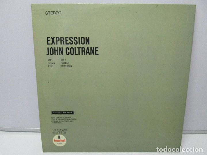 Discos de vinilo: EXPRESSION JOHN COLTRANE. DISCO VINILO. VER FOTOGRAFIAS ADJUNTAS - Foto 8 - 77935109
