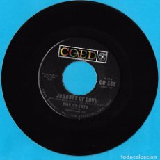 Discos de vinilo: CRESTS, THE: JOURNEY OF LOVE / IF MY HEART COULD WRITE A LETTER. Lote 77954381