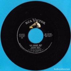 Discos de vinilo: DUANE EDDY WITH THE REBELETTES: BOSS GUITAR / THE DESERT RAT. Lote 77956337