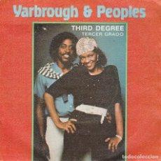 Discos de vinilo: YARBROUGH & PEOPLES / TERCER GRADO / WANT YOU BACK AGAIN (SINGLE 1980). Lote 77986269