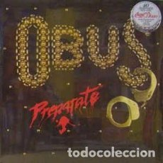 Discos de vinilo: OBUS - PREPARATE (BMG, 88875092461 LP, ALBUM, LTD, RE, RM 2015) COZ, ÑU, LEÑO, BARON ROJO, ASFALTO. Lote 78018229