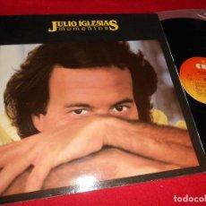Discos de vinilo: JULIO IGLESIAS MOMENTOS LP 1982 CBS GATEFOLD EDICION ESPAÑOLA SPAIN. Lote 222733666