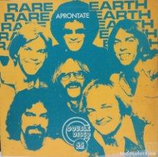 Discos de vinilo: RARE EARTH - APRONTATE MAXI SINGLE 12 PULGADAS ARGENTINO 1978 RARO. Lote 78028561