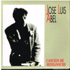 Disques de vinyle: JOSE LUIS ABEL - CANCIÓN DE MEDIANOCHE - SINGLE 1991 - PROMO - COMO NUEVO. Lote 78042133