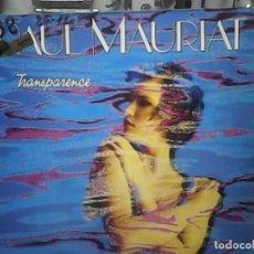 Discos de vinilo: PAUL MAURIANT- TRANSPARENCE. Lote 78043221