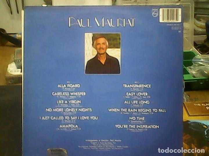 Discos de vinilo: PAUL MAURIANT- TRANSPARENCE - Foto 2 - 78043221