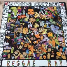 Discos de vinilo: ESTADO CRÍTICO. REGGAE RAP. MAXISINGLE POLYGRAM 1991.. Lote 78045549