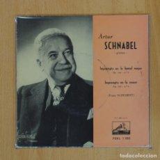 Discos de vinilo: ARTUR SCHNABEL - IMROMPTU OP 142 N 2 Y N 4 - SINGLE. Lote 78052314