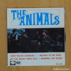 Discos de vinilo: THE ANIMALS - HOW YOU´VE CHANCE + 3 - EP. Lote 78053566