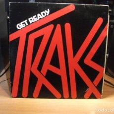 Discos de vinilo: TRAKS GET READY MAXI ITALIA 1983 PDELUXE . Lote 78067369