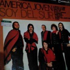 Discos de vinilo: RA. LP,DISCO VINILO,AMERICA JOVEN/SOY DEL SUR. Lote 78084969