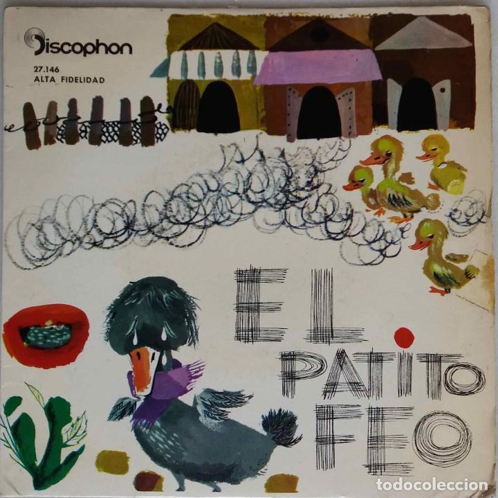 EL PATITO FEO. NARRACION, VOCES Y EFECTOS SONOROS.EP (Música - Discos de Vinilo - EPs - Música Infantil)