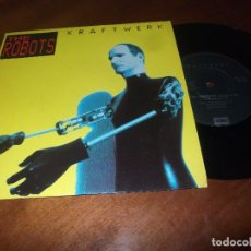 Discos de vinilo: KRAFTWERK THE ROBOTS/ROBOTRONIK. SINGLE 1991 EMI -EXCELENTE COMO NUEVO-. Lote 78118789