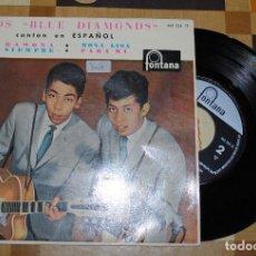 Discos de vinilo: SINGLE, LOS BLUE DIAMONDS, CANTANDO EN ESPAÑOL.. Lote 78125649