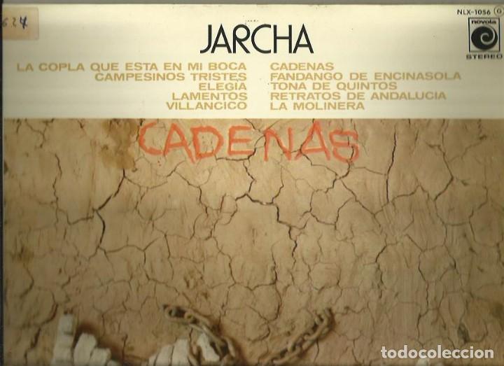 JARCHA. LP PROMOCIONAL. SELLO NOVOLA. EDITADO EN ESPAÑA. AÑO 1976 (Música - Discos de Vinilo - EPs - Grupos Españoles de los 70 y 80)