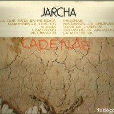 Discos de vinilo: JARCHA. LP PROMOCIONAL. SELLO NOVOLA. EDITADO EN ESPAÑA. AÑO 1976. Lote 78130553