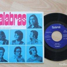 Discos de vinilo: PALABRAS REBELDE OBSESION SINGLE RAREZA 1971. Lote 78131753