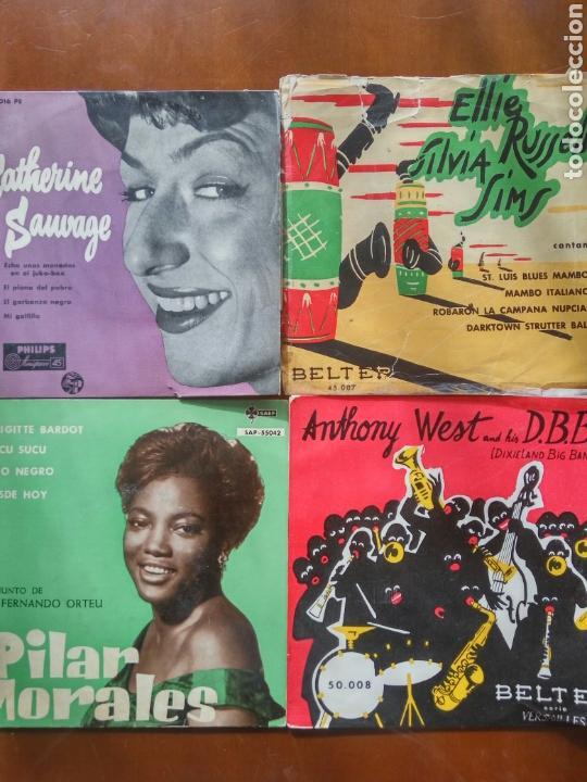 LOTE VINILO 45 RPM (Música - Discos - Singles Vinilo - Jazz, Jazz-Rock, Blues y R&B)