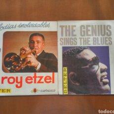 Discos de vinilo: LOTE 2 VINILOS 45 RPM SELLO BELTER ROY ETZEL Y RAY CHARLES. Lote 78140942