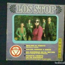 Discos de vinilo: LOS STOP MOLINO AL VIENTO + 3. Lote 78144941