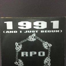 Discos de vinilo: MAXI SINGLE RPO -1991 1991. Lote 78147517