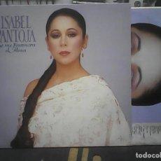 Discos de vinilo: ISABEL PANTOJASE ME ENAMORA EL ALMA. Lote 78147677