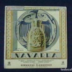 Discos de vinilo: HERMANAS FLAMARIQUE LOS CHOPOS + 6. Lote 78147873