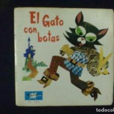 Discos de vinilo: DISCO LIBRO EL GATO CON BOTAS. Lote 78148073