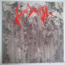 Discos de vinilo: ACCIO DIRECTA - LP IMAGÍNATE - LP VINYL -1990 VINILO ROJO ( CROM, MURO, FUCK OFF, ATILA, EVO GOLIAT. Lote 78158669
