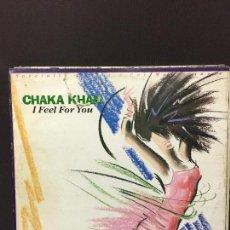 Discos de vinilo: MAXI SINGLE CHAKA KHAN - I FEEL FOR YOU 1984. Lote 78165013