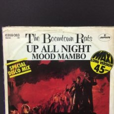 Discos de vinilo: MAXI SINGLE THE BOOMTOWN RATS - UP ALL NIGHT 1981. Lote 78165785