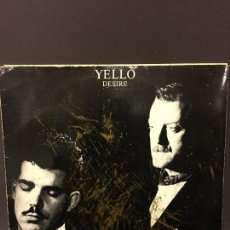 Discos de vinilo: MAXI SINGLE YELLO - DESIRE 1985. Lote 78167597