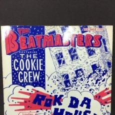 Discos de vinilo: MAXI SINGLE THE BEATMASTERS - ROCK DA HOUSE1988. Lote 78170085