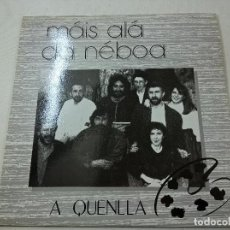 Discos de vinilo: A QUENLLA - MAIS ALA DA NEBOA -LP-N.. Lote 78170261