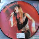Discos de vinilo: 12'' IRON MAIDEN'S BRUCE DICKENSON - INTERVIEW PICTURE DISC - TELL TALES UK 1986. Lote 78174493