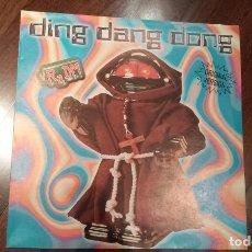Discos de vinilo: VR2 DM-DING DANG DONG.MAXI ESPAÑA. Lote 78174713