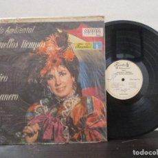 Discos de vinilo: AQUELLOS TIEMPOS DEL TIPICO HABANERO GUAGUANCO AFRICANA SON BURURU BARARA 1973 LP T89 VG ESCASO. Lote 78176865