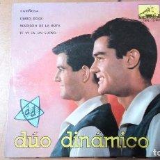 Discos de vinilo: DUO DINAMICO CARIÑOSA + 3 EP. Lote 78186173