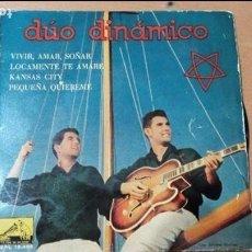 Discos de vinilo: DUO DINAMICO VIVIR AMAR SOÑAR EP 1960. Lote 78186285