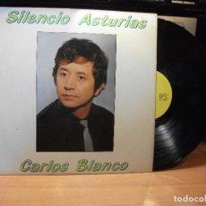 Discos de vinilo: CARLOS BLANCO SILENCIO ASTURIAS LP DAMITOR 1985. Lote 78190397