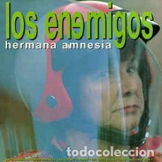 Discos de vinilo: LOS ENEMIGOS - HERMANA AMNESIA - 10 PULGADAS - LIMITADO - EXCELENTE ESTADO - ALKILO DISCOS. Lote 78213477