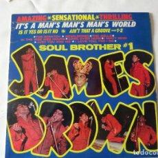 Discos de vinilo: JAMES BROWN IT,S A MAN,S MAN,S MAN,S WORLD.ED.1966 U.K.PYE RECORDS NPL28079.ORIGINAL.. Lote 78217229