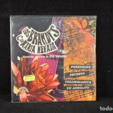 Discos de vinilo: LOS BRANDYS CON MARIA NEVADA - PEREGRINO +3 - EP. Lote 78228053