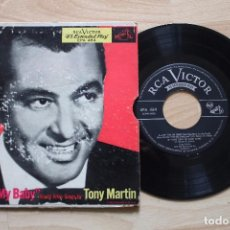 Discos de vinilo: TONY MARTIN ONE FOR MY BABY EP MADE IN USA. Lote 78232917