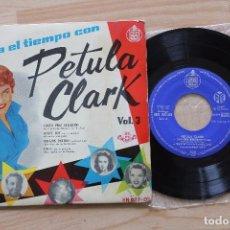 Discos de vinilo: PETULA CLARCK PASA EL TIEMPO VOL 3 EP 1960. Lote 78234489