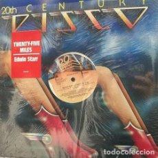 Discos de vinilo: EDWIN STARR - TWENTY FIVE MILES - VINYL MAXI 45 - USA ELECTRONIC FUNK DISCO. Lote 78269069